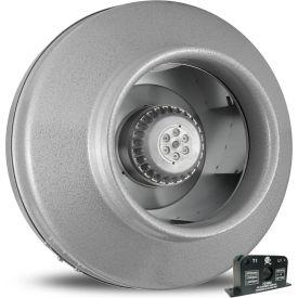 Vortex Powerfan 8'' In-Line Duct Fan VTX800-ACS - 739 CFM with Current Sensor Kit