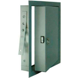 "Fire-Rated & Insulated Metal Access Panel, Gray, 24""W x 24""H"