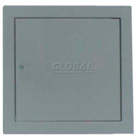 "Multi Purpose Metal Access Panel, Cam Lock, Gray, 6""W x 6""H"