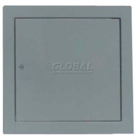 "Multi Purpose Metal Access Panel, Cam Lock, Gray, 8""W x 8""H"