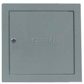 "Multi Purpose Metal Access Panel, Key Lock, Gray, 8""W x 8""H"