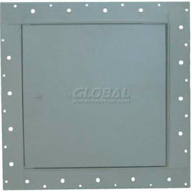 """Concealed Frame Access Panel For Wallboard, Cam Latch, White, 8""""W x 8""""H"""