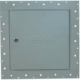 """Concealed Frame Access Panel For Wallboard, Lock, Gray, 18""""W x 18""""H"""