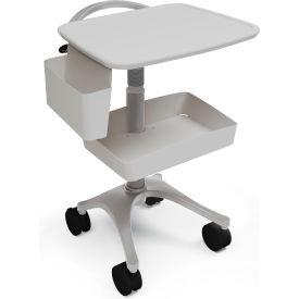 Anthro® Zido EKG Medical Cart BZD03SB/CG4 Slate Blue-Cool Grey
