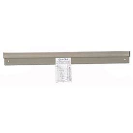"Check Minder, 48"" L, Aluminum, Wall or Shelf Mount"