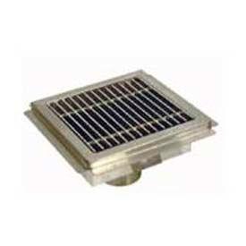 Drains & Traps | Floor Drains | Stainless Steel Grate For Floor Drain 12 x 12 | B568575 - GlobalIndustrial.com