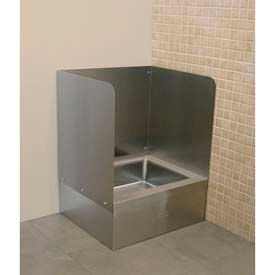 Janitor Sink : Sinks & Washfountains Janitorial Sinks Three Sided Splash For Mop ...
