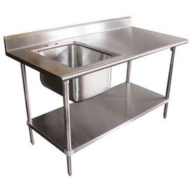 Stainless Steel Work Benches Stainless Steel Workbench with Sink ...