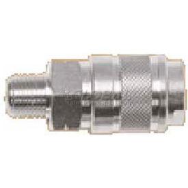 "Alpha Fittings 3/8"" Industrial Coupler X 3/8"" Male Nptf, 80131-06 - Min Qty 6"