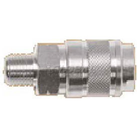 "Alpha Fittings 3/8"" Industrial Coupler X 1/2"" Male Nptf, 80131-08 - Min Qty 6"