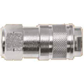 "Alpha Fittings 3/8"" Industrial Coupler X 3/8"" Female Nptf, 80132-06 - Min Qty 5"
