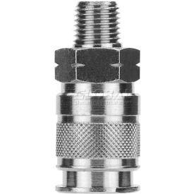 """Alpha Fittings 1/4"""" Multi-Socket X 3/8"""" Male Nptf, 80191-06 - Min Qty 7"""