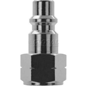 "Alpha Fittings 3/8"" Industrial Plug x 1/2"" Female NPTF, 80232-08 - Pkg Qty 5"
