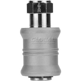"Alpha Fittings Slide Valve 82660-04, 1/4"" Female Nptf - Min Qty 4"