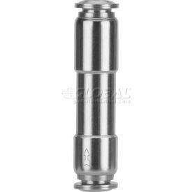 "Alpha Fittings Check Valve 82664vm-04-04, Metal Ring With Fkm (Viton) Seal, 1/4"" Tube - Min Qty 4"