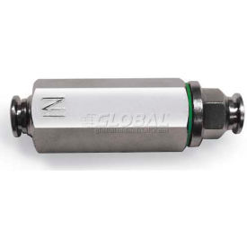 """Alpha Fittings Inline Filter 82670vm-06, Metal Ring With Fkm (Viton) Seal, 3/8"""" Tube - Min Qty 5"""