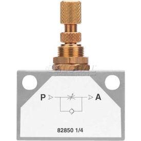 "Alpha Fittings Inline Flow Control 82850-06, 3/8"" Female Nptf - Min Qty 2"