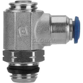 "Alpha Fittings Flow Control 88953-04-04, Screw Adj, Flow Out, 1/4"" Tube x 1/4"" Swift-Fit Universal - Pkg Qty 2"