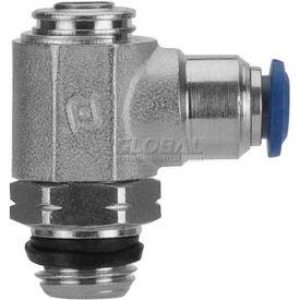 "Alpha Fittings Flow Control 88953-06-04, Screw Adj, Flow Out, 3/8"" Tube x 1/4"" Swift-Fit Universal - Pkg Qty 2"