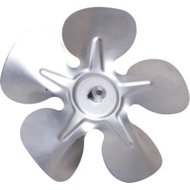"""8"""" One Piece Fixed Hub Blade - 24° Pitch, Clockwise Rotation 1/4"""" Bore - Min Qty 10"""