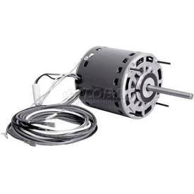 """Alltemp DD3587, 5.5"""" Dia. Permanent Split Cap Direct Drive Motor w/ Sleeve Bearings - 1/2 HP, 7.5A"""