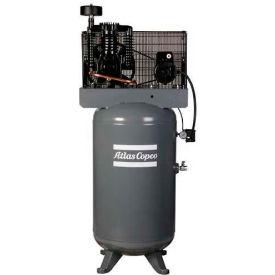 air compressors & accessories two stage air compressors atlas rh globalindustrial com  atlas copco ar 5ev, 5 hp, two stage compressor, 60 gallon