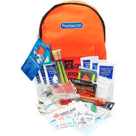 PhysiciansCare® Emergency Preparedness Backpack-XL - 63 Pieces