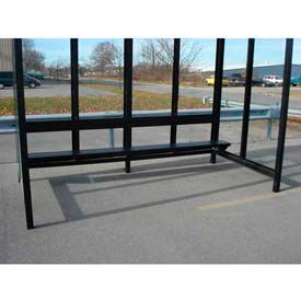Bench for 10' Bus Smoking Shelter, Bronze