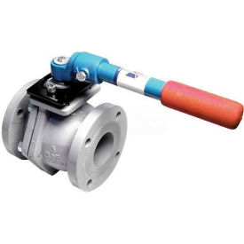 """American Valve 4000D-10 Ball Valve, Flanged, 10"""", Ductile Iron"""