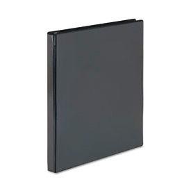 "Showcase Reference View Binder, 1/2"" Capacity, Black"
