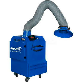"Avani SPC-1000 Portable Filtration Unit w/ 10'L x 6""D Powder Coated Steel Arm"