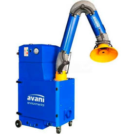 "Avani SPC-2000 Portable Filtration Unit w/ 10'L x 8""D Powder Coated Steel Arm"
