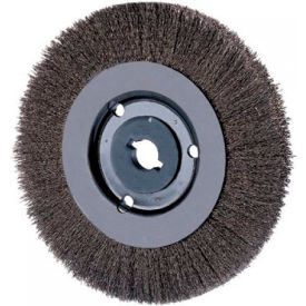 Narrow Face Crimped Wire Wheel Brushes, ADVANCE BRUSH 80344