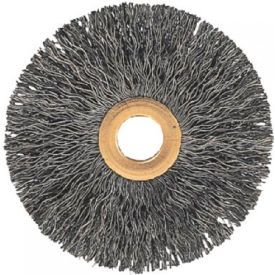 Tube Center Crimped Wire Wheel Brushes, ADVANCE BRUSH 81542