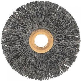 Tube Center Crimped Wire Wheel Brushes, ADVANCE BRUSH 81542