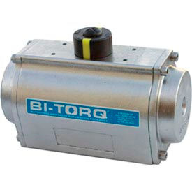 Stainless Steel Spring Return Pneumatic Actuator; 135 In Lbs Spring End Torque