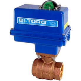 "2"" 2-Pc Bronze NPT Ball Valve W/NEMA 4 115VAC/4-20mA"