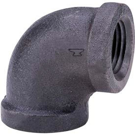 Anvil 1 In. Black Malleable 90 Elbow