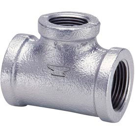 Pipe Fittings | Galvanized Malleable | Anvil 1/2 Galv Mi Tee