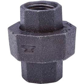 Anvil G463 In. 1/2 In. 150 Black Malleable Union