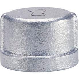 Anvil 1-1/2 In. Extra Heavy Galvanized Malleable Cap