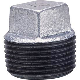 Anvil 2-1/2 Galv Ci Solid Sq Head Plug