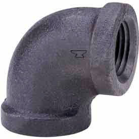 3/4 In. Black Malleable 90 Degree Elbow 150 PSI Lead Free