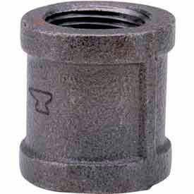 1-1/2 In. Black Malleable Coupling 150 PSI Lead Free