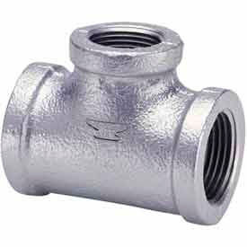 1-1/4 In Galvanized Malleable Tee 150 PSI Lead Free