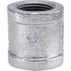 1 In Galvanized Malleable Coupling 150 PSI Lead Free
