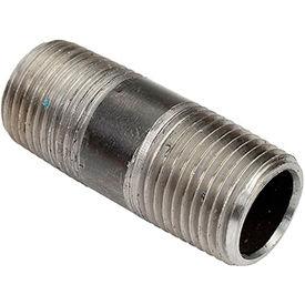 1/2 In. X 2 In. Black Steel Pipe Nipple 150 PSI Lead Free