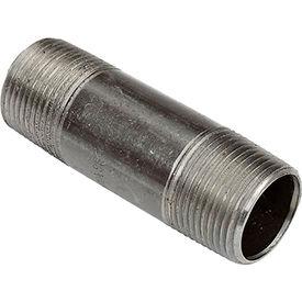 3/4 In. X 3 In. Black Steel Pipe Nipple 150 PSI Lead Free
