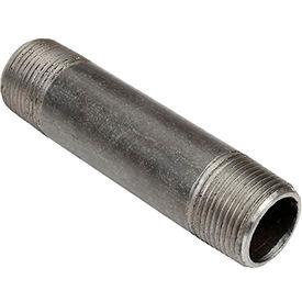 3/4 In. X 4 In. Black Steel Pipe Nipple 150 PSI Lead Free