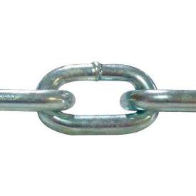 "Advantage Grade 30 Proof Coil Chain ZPPC187x250 - 3/16"" Dia. - 750 Lb. Cap. - 250' Pail -Bright Zinc"